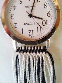 Tutorial Friendship Bracelets Net Diy Watch Band Friendship