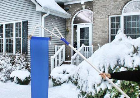 Kinbor Roof Snow Rake Removal Tool 20ft Adjustable Extendable Handle Walmart Com Snow Rake Snow Removal Removal Tool