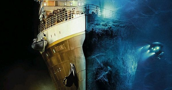 A Hundred Years Later Beautiful Perspective And Rms Titanic