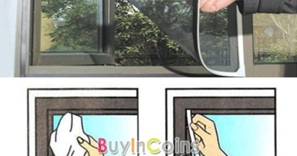Insect Fly Bug Mosquito Door Window Net Netting Mesh