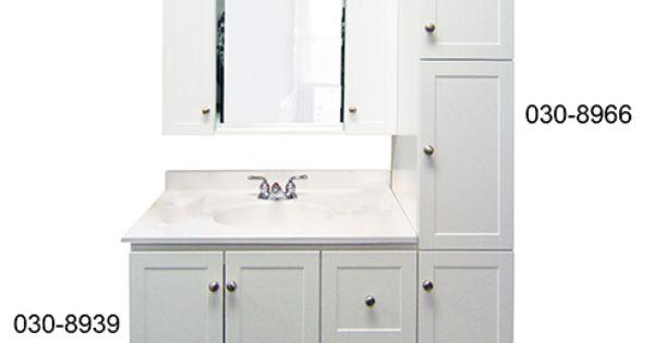 Meuble lavabo shaker vanit plomberie bmr groupe for Plomberie lavabo salle de bain