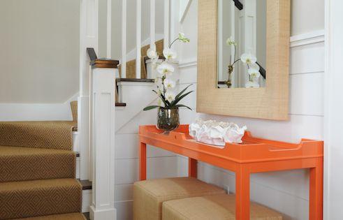 Nina Foyer Table : Nina liddle design entrances foyers fenwick console