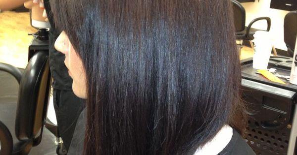 Long Angled Bob Hair Amp Make Up Pinterest Bobs