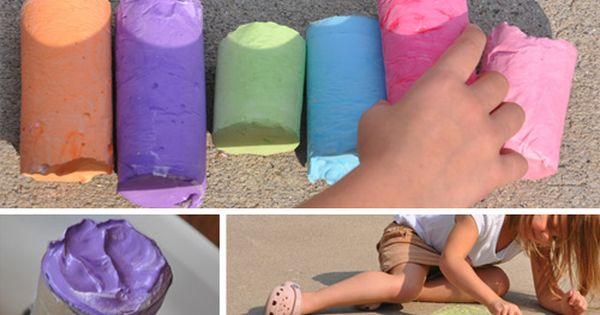 Recipes galore. Homemade sidewalk chalk, rainbow pasta, finger paint, bubbles, fruit roll