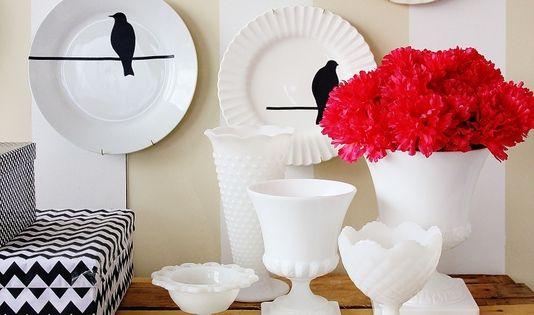 Bird Plate Wall CraftDIYSerendipity craft diy project tutorials Craft and DIY Projects