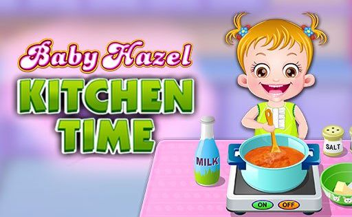 Baby Hazel Kitchen Timelittle Hazel Turns To Be Chef Today And Wants To Try Her Hand In Cooking Enjoy Shopping Utensils And Ingre In 2020 Baby Hazel Kitchen Time Baby