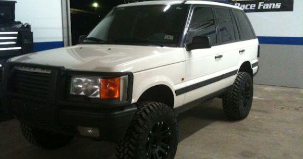 White Lifted Range Rover Suv Pinterest Range Rovers