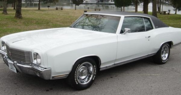 Autotrader Classics 1970 Chevrolet Monte Carlo Coupe White 8 Cylinder Automatic 2 Wheel Drive American Classi Classic Cars Chevrolet Monte Carlo Autotrader