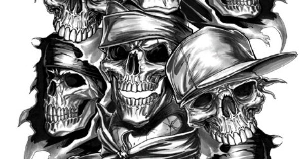 The World's Best Photos of bandana and painting - Flickr ...  |Bone Thugs Skull