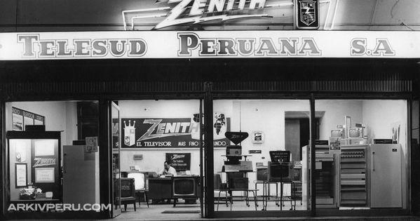 Antigua tienda Zenith en el Centro de Lima #retro lima Pinterest ...