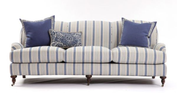 Best Blue Stripe Sofas Russell Sofa In Bronte Stripe 400 x 300