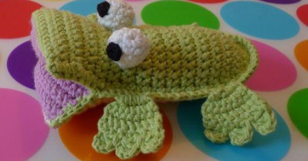 Amigurumi Uggla : crochet lovely croc - free pattern Crochet ~ animals ...