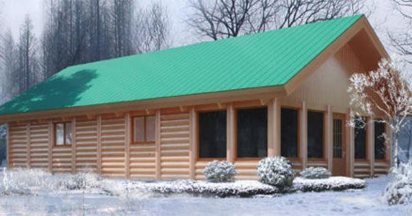 Woody Bear Den Log Cabin Kit Only at Menards DIY