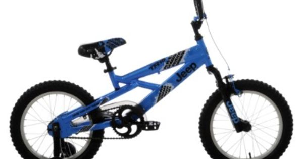 Kent Boys Jeep Tr 16 Bicycle Blue Black 16 Boy Bike Kids