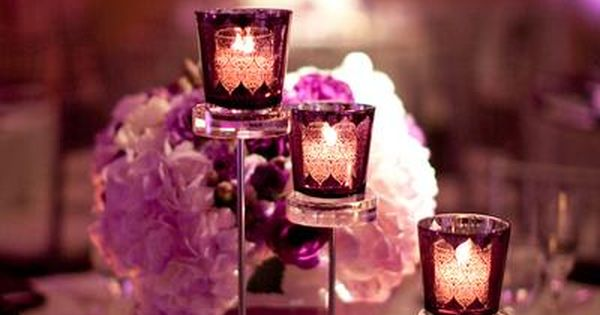 Candle centerpiece