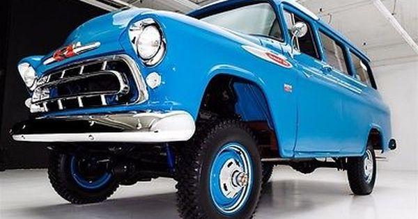 1957 Chevrolet Suburban Napco 4 Wheel Drive V8 Manual Chevrolet
