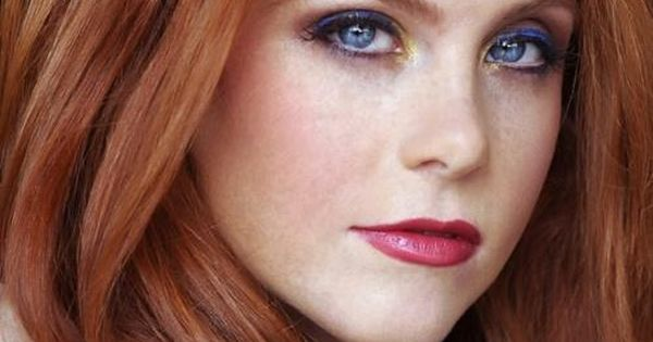 Redhead With Blue Eyes Pretty Makeup Red Hair