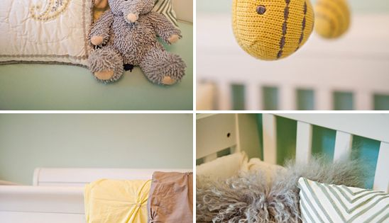 Bumble bee could be DIY - Kate's Lovely Yellow & Mint Green