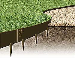 Stahlkanten Beeteinfassung Metall Beetumrandungen Garten Hochbeet