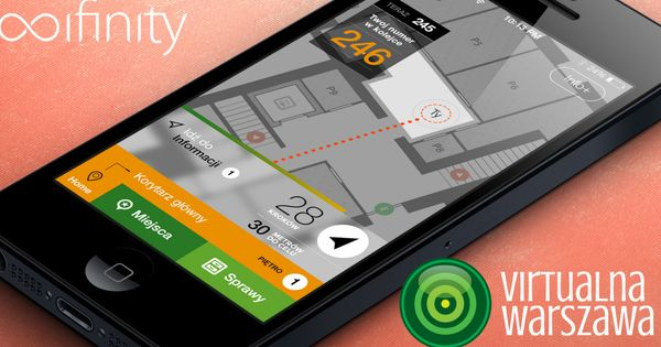 It has an appealing indoor navigation ui maybe some good for Indoor navigation design