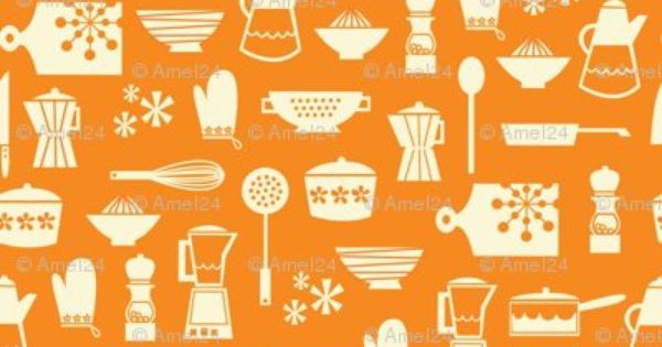 Colorful Fabrics Digitally Printed By Spoonflower Kitchen