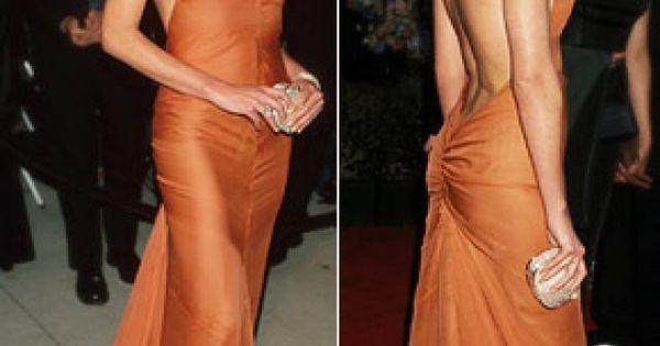 24 Charlize Theron Con Vestido Vera Wang 2000 Ropa