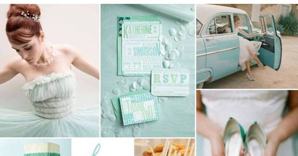 The Perfect Palette: {Something Borrowed, Something Blue}: A Palette of Tiffany Blue,