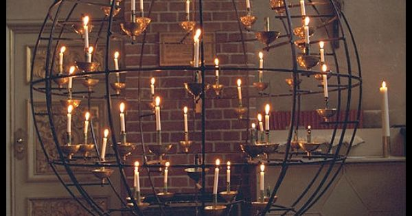 Gamla Stand Designs : Spherical candle holder in church gamla stan central