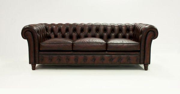 Sofa Piel Chesterfield Demarques Es Sofas Y Butacas De