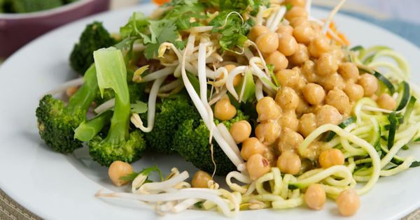 Vegan bowl with curry dressing