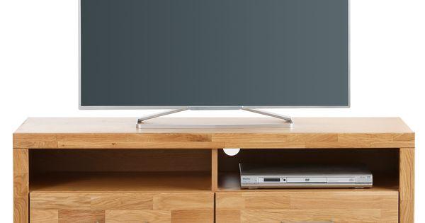 Lowboard »Paula« braun, pflegeleichte Oberfläche, mit Schubkästen - wohnzimmerschrank eiche rustikal