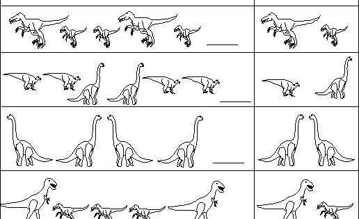 Dinosaur patterns enchanted learning software kids for Pin the tail on the dinosaur template