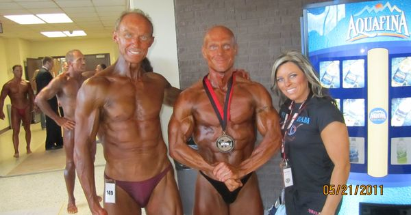 Master bodybuilder Mr. Doug Holmberg and IFPA Natural Pro