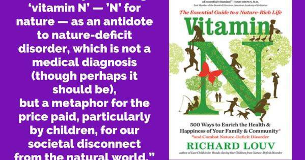 What Is Nature Deficit Disorder Google Search In 2020 Nature Deficit Disorder Nature Deficit Rich Life