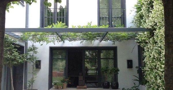 Vines for the veranda home ideas pinterest terrasdeuren kantoren en metalen - Wijnstokken pergola ...