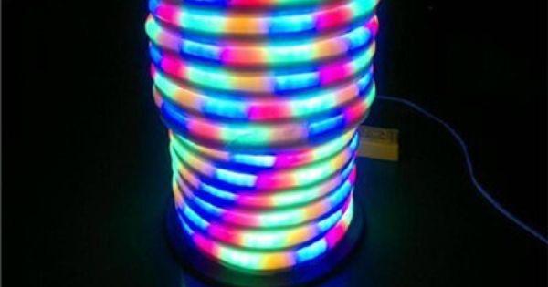 Best Wholesale 10mled Neon Flex Rope Ac220v 110v Pvc Led Light Indoor Outdoor Use Disco Night Bar Christmas P Disco Night Christmas Party Decorations Night Bar