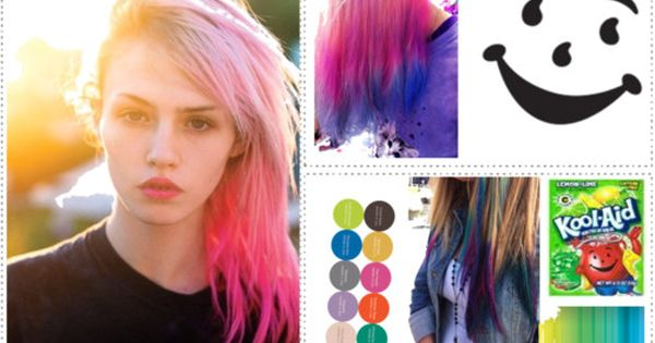 The best use for Cool-Aid: DIY Hair Dye!! DIY