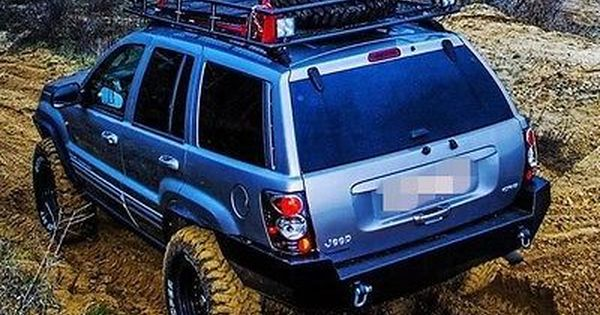 Jeep Grand Cherokee Wj Rear Steel Custom Bumper Jeep Grand Jeep
