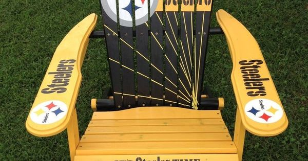 Details About Hand Painted Pittsburgh Steeler Folding