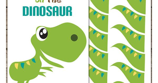 Pin The Tail On The Dinosaur Printable Party Game