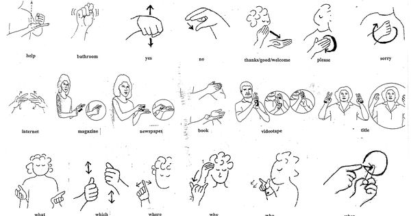 Who, what, where, when, why? | Sign Language for Preschool ...