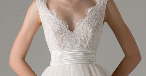 Anne Barge bridal fall 2015 | leah sleeveless ball gown wedding dress