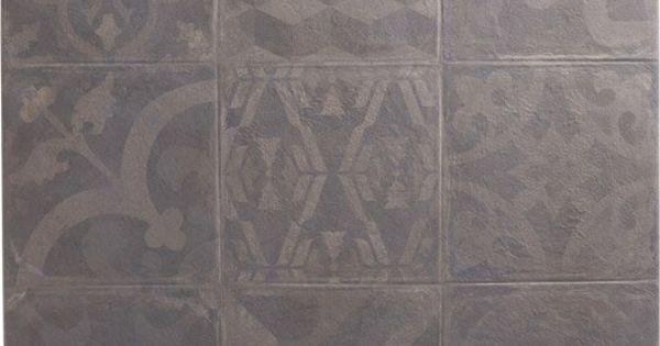 Carrelage int rieur cosy artens en gr s graphite 60 x Carrelage ardoise interieur