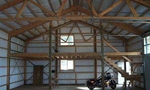 Pole Barn Mezzanine Diy Pole Barn Barn Kits Pole Barn Plans