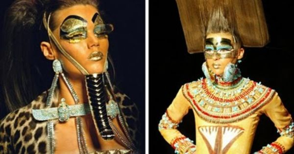 Image result for cleopatra with beard