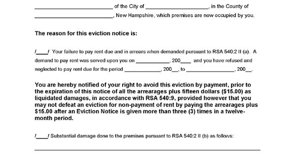 Eviction Notice Template Real Estate Forms Legal Forms - apartment rental contract sample