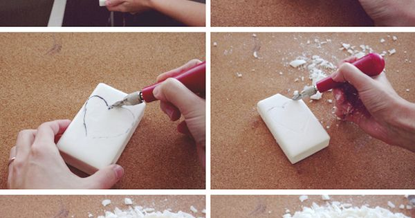 Diy soap carving project kb
