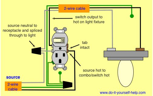 wiring diagram, combo switch work at home ideas