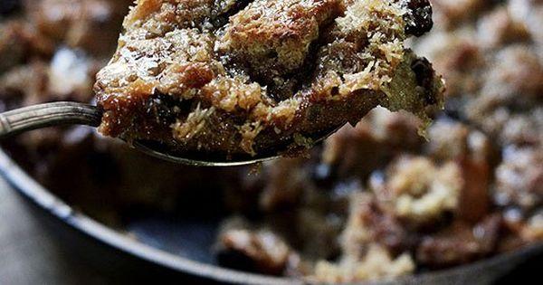 Rum Glazed Coconut Bread Pudding | Recipe | Bread Puddings, Rum and ...
