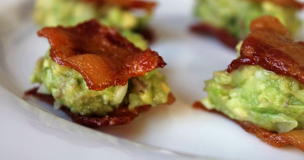 Guacamole Bacon Bites! Wow, does it get any better than this? bacon